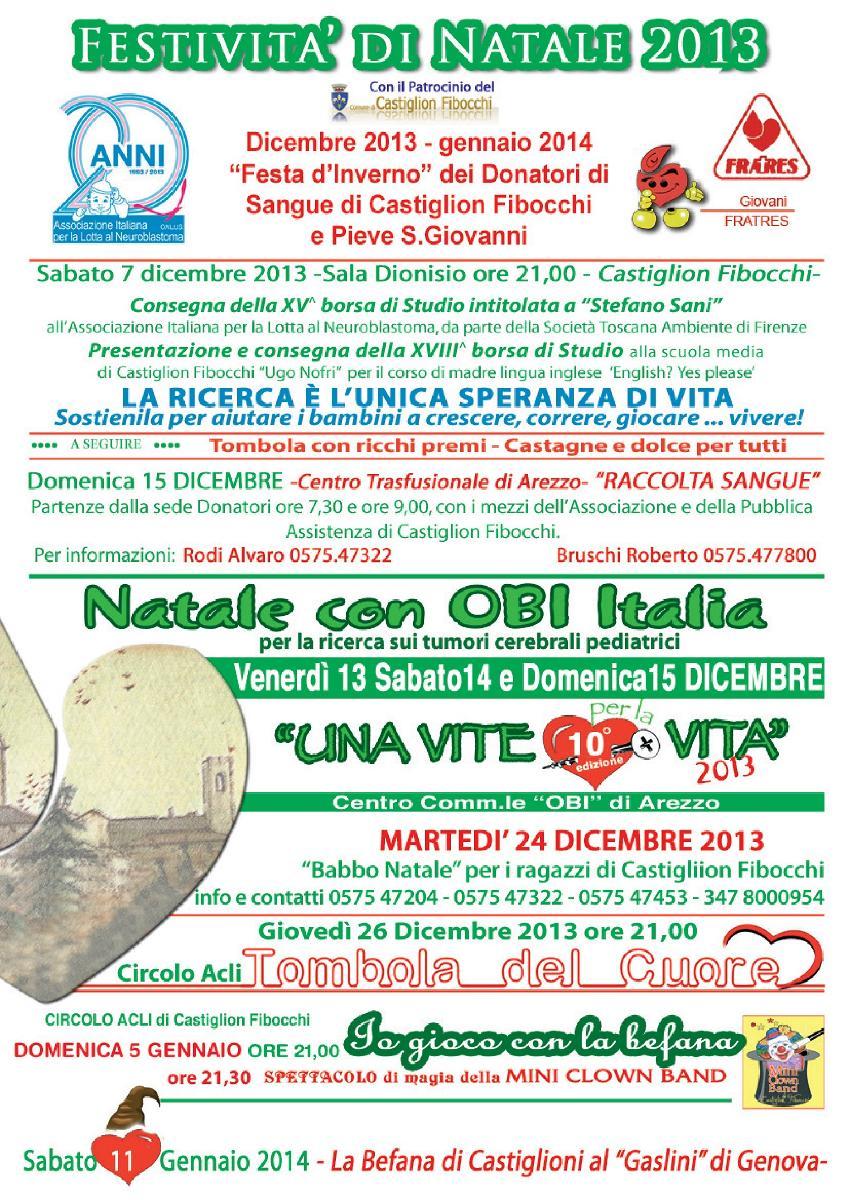FESTIVITÀ' DI NATALE 2013