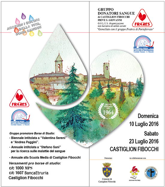 FESTA DONATORI DI SANGUE CASTIGLION FIBOCCHI